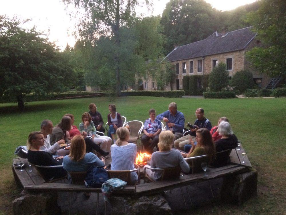 Yoga vakantie in de Ardennen in België.